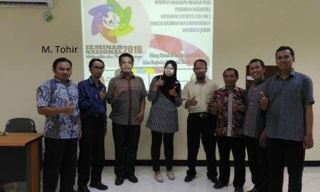 Sedang Paralel Seminar Nasional FKIP Unej 2016